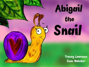 Abigail the snail book cover