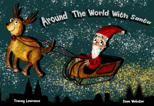 Around the world with Santa Book Cover