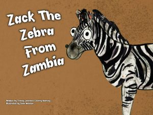 Zack The Zebra Book Cover