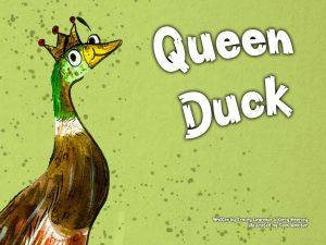 Queen Duck Book Cover